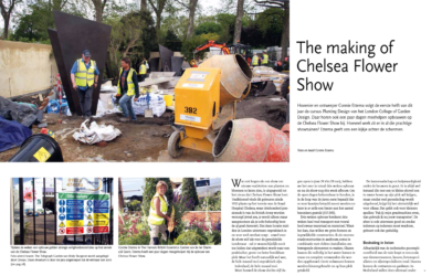 The making of Chelsea Flower Show